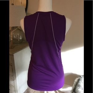 CHAMPION purple sleeveless tank top, athletic
